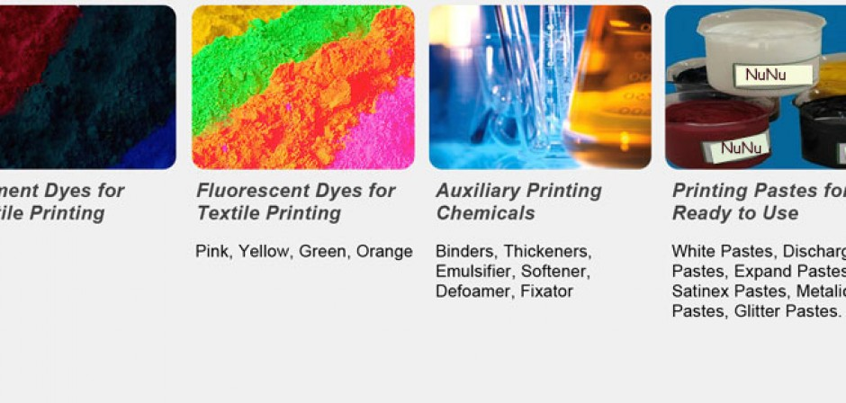 NuNu Textile Dyeing and Finishing Chemicals